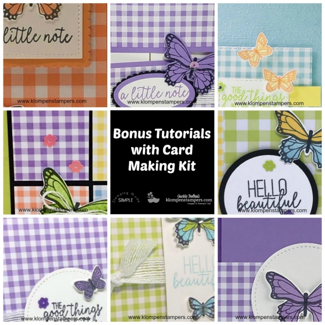 Card Making Kits Butterfly Gala with Jackie Bolhuis