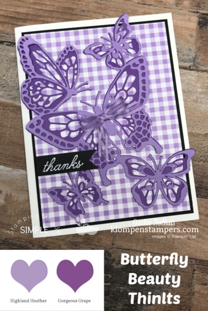 Stampin Up Beauty Abounds in Purple Color Tones by Jackie Bolhuis