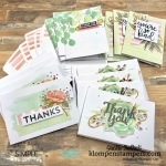 Simple Stamping with Card Kits | Klompen Stampers