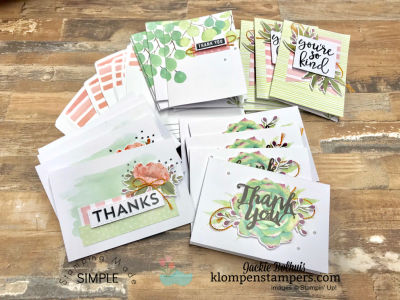 Simple Stamping with Card Kits   Klompen Stampers