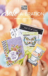Stampin'-Up!-Sale-A-Bration-2019-Catalog-Cover-with-Jackie-Bolhuis-Klompen-Stampers