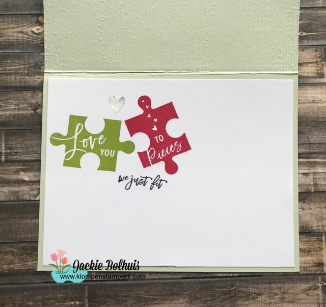 Handmade Card by Jackie Bolhuis with Klompen Stampers