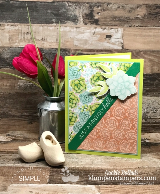 Just-a-friendly-hello-greeting-card-handmade-image-by-jackie-bolhuis