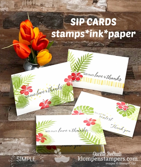 Handmade-Note-Card-with-Easy-Stamped-Red-Flowers-and-Green-Leaves