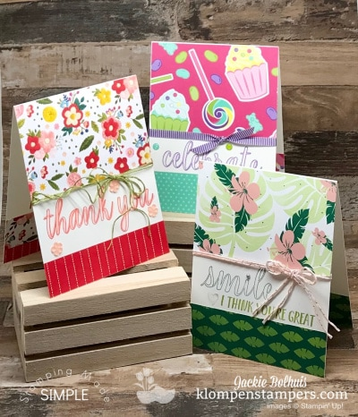 7 Greeting Cards that Show Off Your Beautiful Designer Series Papers
