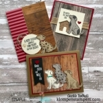 Puppy Cards!! This is Easy & Makes Quick Adorable Cards!