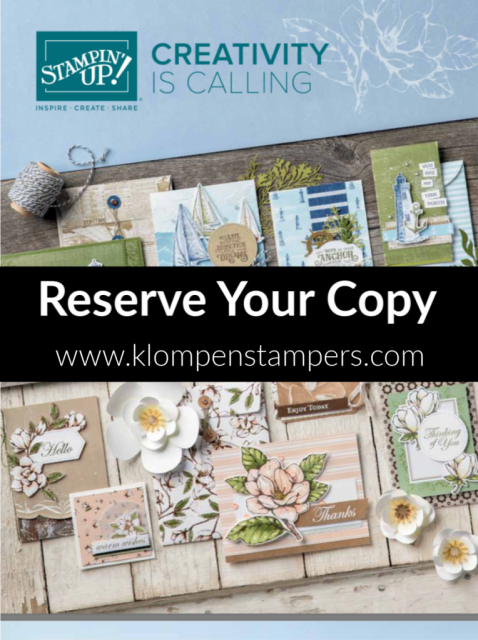 Reserve Your Copy of the 2019-2020 Stampin' Up! Catalog Now