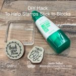 DIY Hack You Need to Know That Will Help Stamps Stick