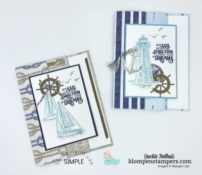 How to Make an Easy Fun Fold Card with Designer Paper