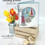 How to Make a Window Card with Stampin' Up! Sailing Home