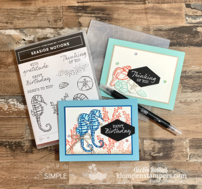 Tips For Embossing Folders That Will Help You Have Success + SIP Cards