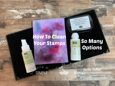 How to Clean Your Stamps | 5 Ways to Clean Your Stamps