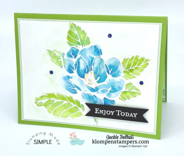Simple-Watercolor-Cards-Coloring-Inside-Embossed-Image-Blue-Florals