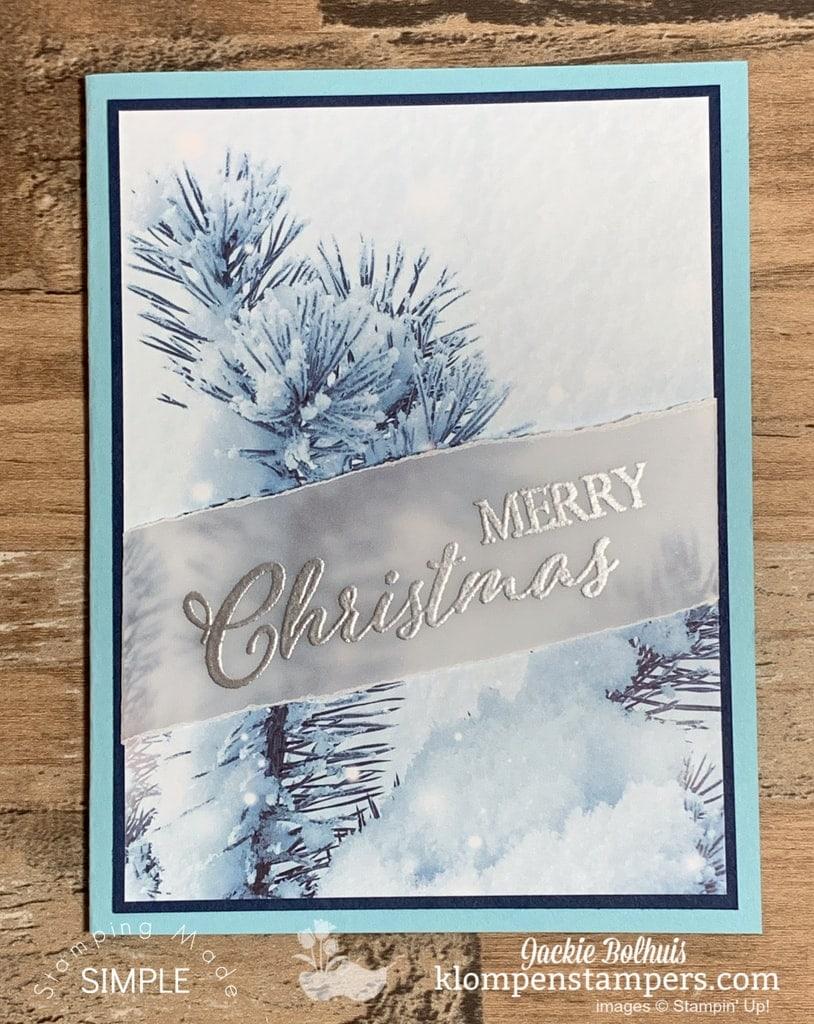 6 Simple Christmas Cards Handmade