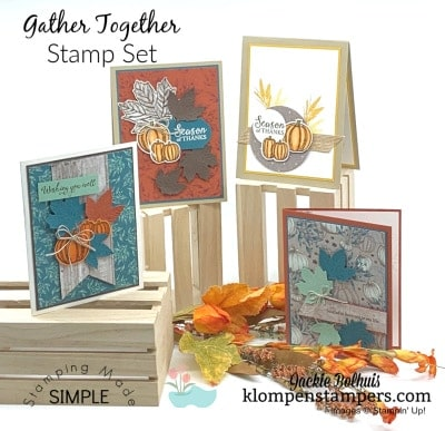 Card Making for Fall with Die Cutting Tips