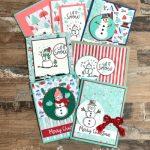 Adorable-Handmade-Cards-with-Snowman-Season