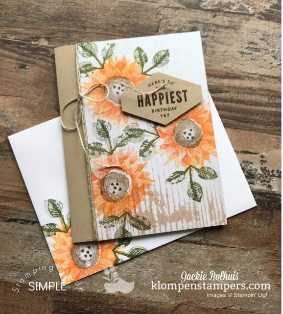 handmade-card-with-sunflowers