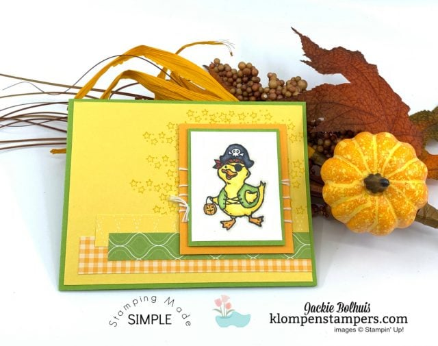 Coloring-Adorable-Greeting-Cards-Handmade-Halloween-Card-Pirate-Duck
