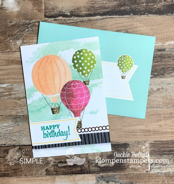 Versatile-Cards-Birthday-Card-with-Hot-Air-Balloons-in-Peach-Green-Pink