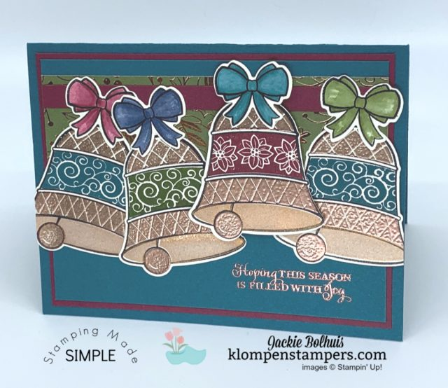 From-Wedding-Bells-to-Christmas-Bells-Handmade-Cards-by-Jackie-Bolhuis