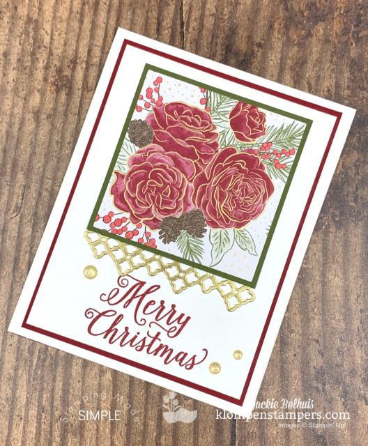Elegant-homemade-christmas-cards-with-roses