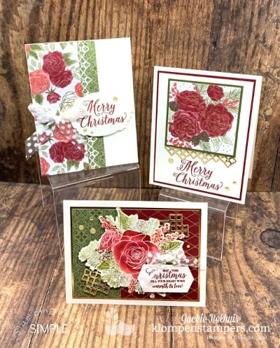 Make Elegant Homemade Christmas Cards + Free Tutorials Option