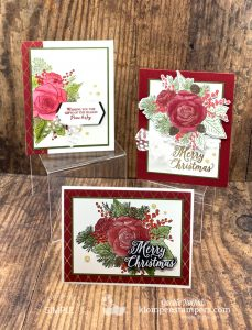 Christmas-Card-Ideas-Handmade-with-Stamped-Red-Pink-Roses