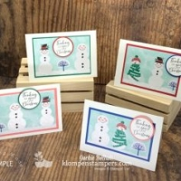 4 Christmas Note Cards That Will Melt Your Heart!