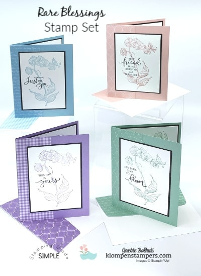 4 Simple Greeting Cards + How to Decorate the Envelopes