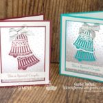 Beautiful-Handmade-Wedding-Cards-Wedding-Bells-in-Bridal-Party-Colors