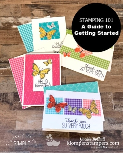 Stamping & Card Making 101: The Best Complete Guide