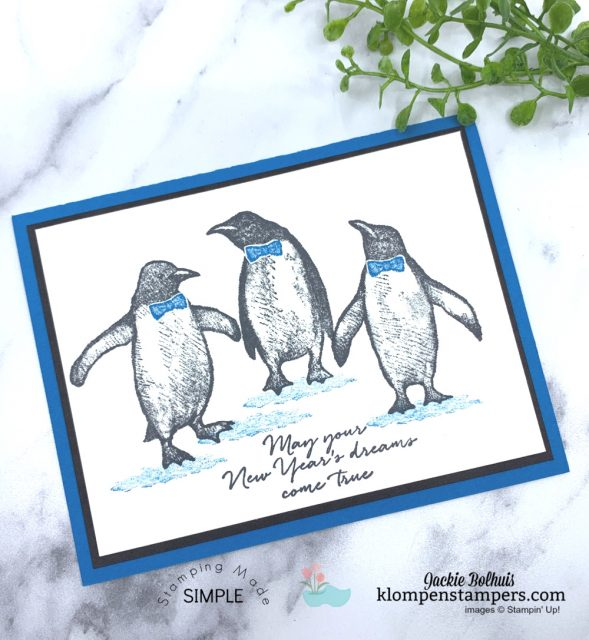 Magic-in-Card-Making-Masking-Tape-Technique-on-Penguin-Handmade-Cards