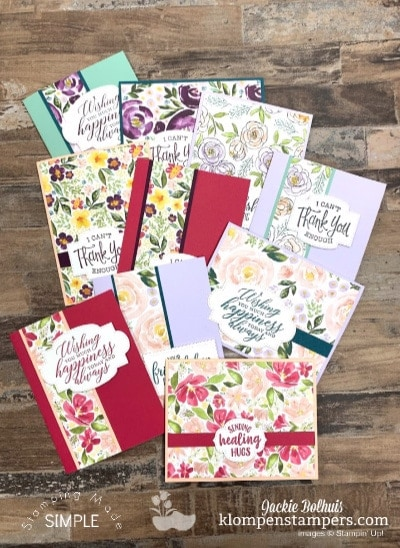How to Make Fabulous Quick Cards   A Card Layout You'll Use Lots