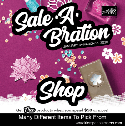 Sale-A-Bration 2020 is Almost Here …Let the Free Selections Begin!