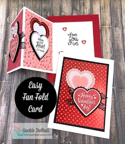 2 Stunning Valentine Cards to Make Quick and Easy