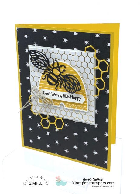 Bee-Impressed-Greeting-Card-Don't-Worry-Be-Happy