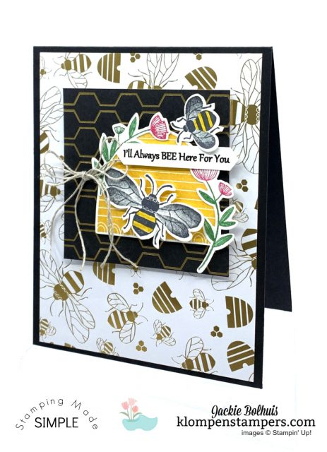 Bee-Impressed-Greeting-Card-Always-Here-For-You