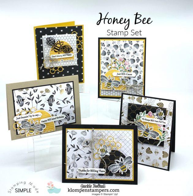Bee-Impressed-Greeting-Cards