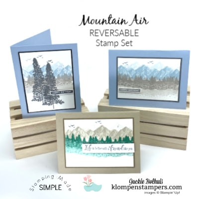 Stunning Reversible Stamps For Easy Card Making