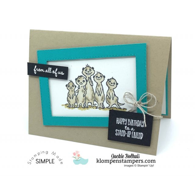 Lovable-Cards-with-Meerkats-on-Birthday-Card-and-Heat-Embossed-Greeting