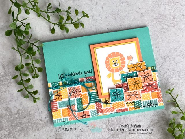 amazing-birthday-bonanza-handmade-card-stamped-with-lion-and-presents