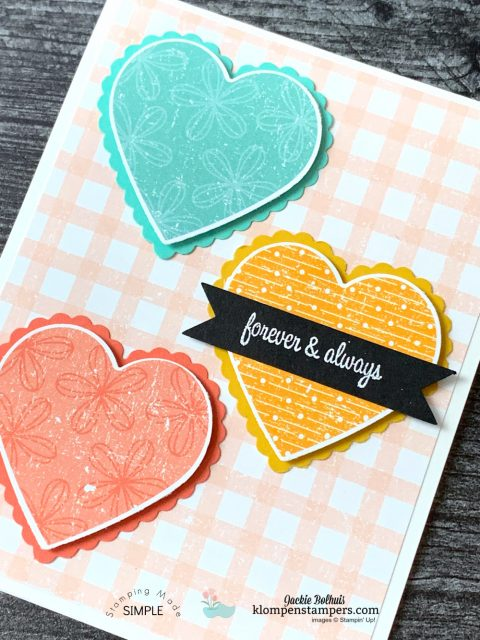 Make-Vibrant-Quick-Cards-Handmade-with-Hearts-on-Scrapbook-Paper-Background
