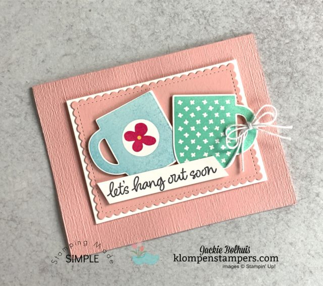 Double-delight-card-ideas-simple-diy-card-with-two-coffee-cups