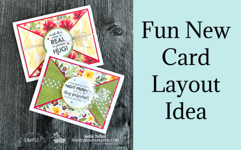How to Use Digital Stamps for Easy Greeting Cards | Easy Print & Cut PDF