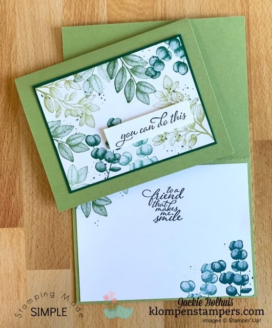 simple-card-making-with-stampin-up-forever-ferns-in shades-of-green