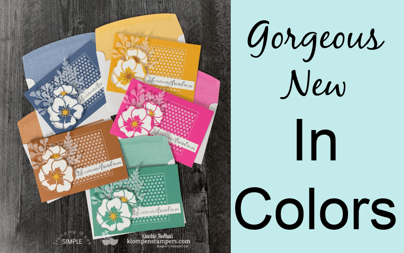 Introducing the NEW Stampin' Up! In-Colors for 2020-2022