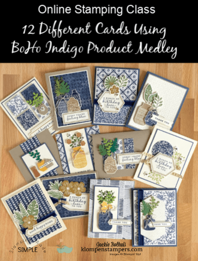 A Card Making Medley That Will Give You Beautiful Results | July Online Class Preview