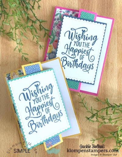 How to Make a Unique Birthday Card in 5 Minutes