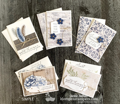 Simple Card Making Ideas for FREE | A Perfect Gift Set to Make
